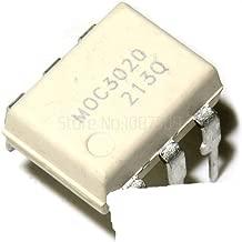 10PCS MOC3020 3020 DIP6 Triac & SCR Output Optocouplers 6Pin 400V Optocoupl Rand Phs Triac Drvr