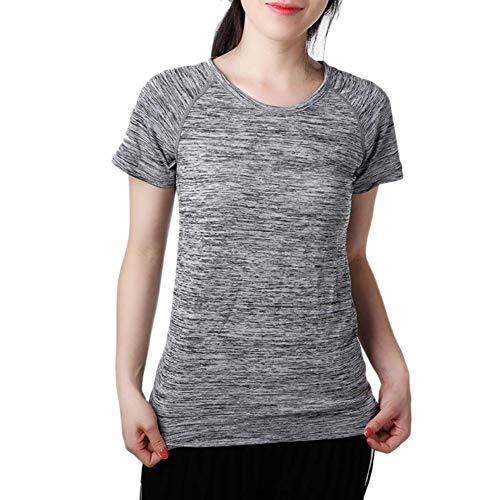 iBàste T-Shirt d'été léger pour Femmes, à séchage Rapide