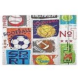 Puzzles 1000 pièces Difficultes pour adultes et adolescents Sport pour design original avec ballon de football, basket-ball, tennis, rugby pour garçons Puzzle intellectuel, jouets pour la famille