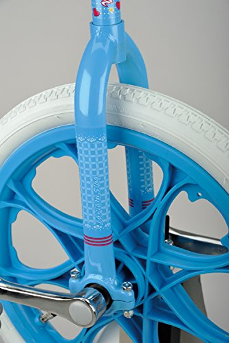 キャプテンスタッグ(CAPTAINSTAG)アステリア18一輪車ホワイト/ブルーYC-9838