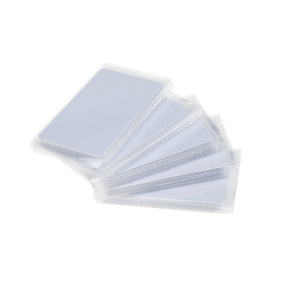 OBO HANDS RFID 125KHZ Em4305 White Cards Writable Rewrite Cards 50