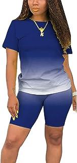 WOKANSE Women's Turtleneck Patchwork Sweatshirts and Skinny Long Pants Two Piece Sweatsuits Tracksuit Set
