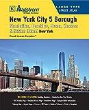 New York City 5 Borough Large Type Atlas