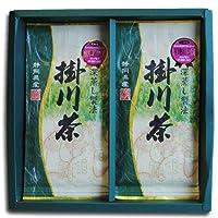 鈴木園 【のし・包装可】深蒸しがおいしい!伝統のお茶づくり 静岡 掛川市健康カプセルで紹介 緑茶パワーを最大限に引き出すワザ 掛川の深蒸し茶 「掛川茶」100g×2袋ギフトセット SZK-KAKEGAWACHA-GIFT02