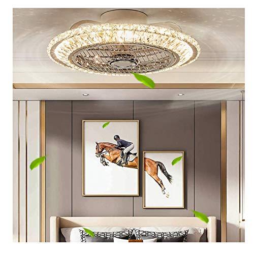 WOERD Ventilador de Techo con Iluminación LED 72W Ventilador de Techo Regulable con Mando a Distancia Regulable 3 Velocidades Luz de Techo Moderna para Dormitorio Sala de Estar Comedor
