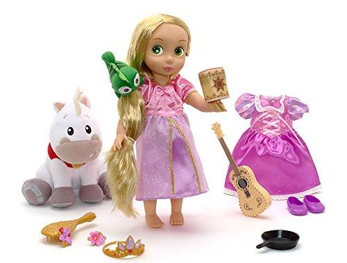 Disney Store Rapunzel Muñeca Animators Collection Princesa Pascal Juego