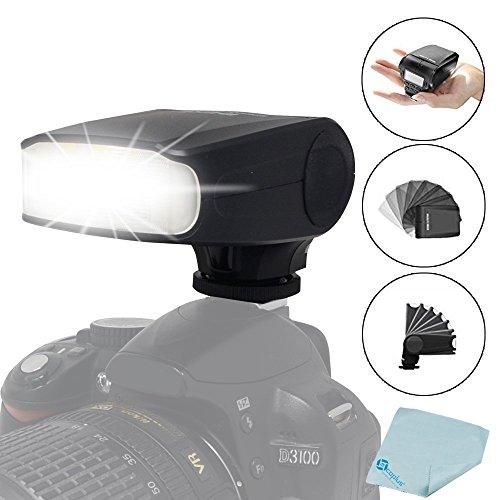 Meike MK-320 GN32 TTL LCD Speedlite de destello de iluminación para FujiFilm Fuji zapata caliente Cámara X-T1 X-M1 X100s X100t X30 X-Pro 1 X-a1 X-A2 X-E1 X-E2 S1 SL1000-LED de Asistencia Previa Punto de mira Speedlite + Mcoplus paño de limpieza (MK-320F)