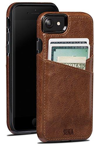 Sena Lugano Wallet Drop Safe Leather Wallet Snap On...