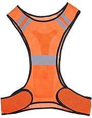 Scicalife Chaleco Reflectante Deportes Correr Chaleco Ultraligero Corredor Trotar Chaleco de Seguridad Ciclismo Equipo de Seguridad