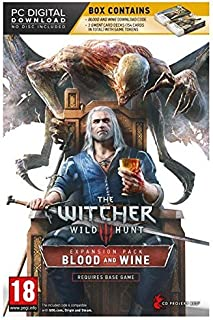 The Witcher 3: Wild Hunt Blood and Wine EXPANSION Pack & 2 GWENT CARDS (DOWNLOAD) PC
