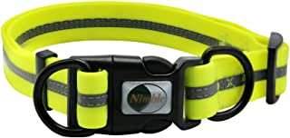waterproof reflective dog collars