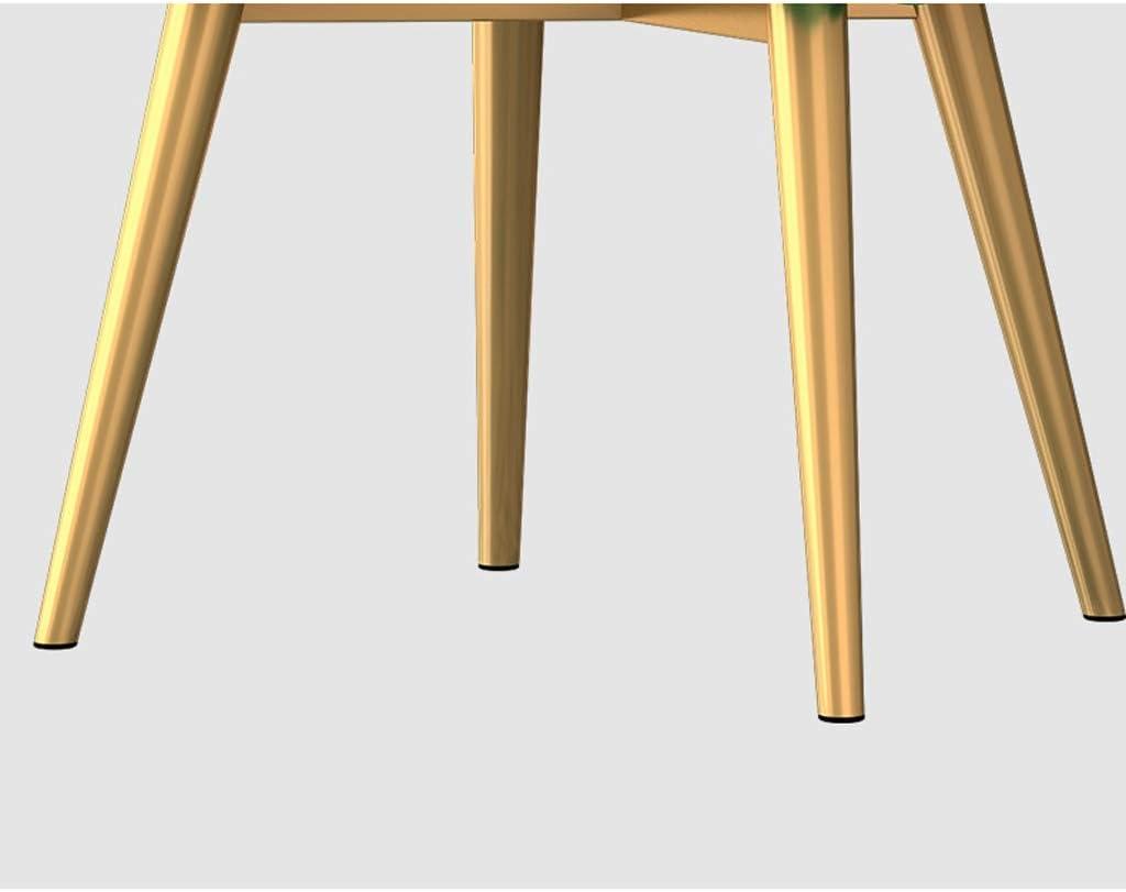 Chaise WGZ de Salle, de Bureau Simple, créative Dossier, Loisirs, Maison Adulte de Salle Simple (Color : Green) Orange