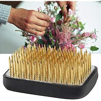 Arreglo floral Kenzan Alfiler cuadrado antideslizante para arreglos florales Ikebana Kenzan Decoraci/ón floral con junta de goma