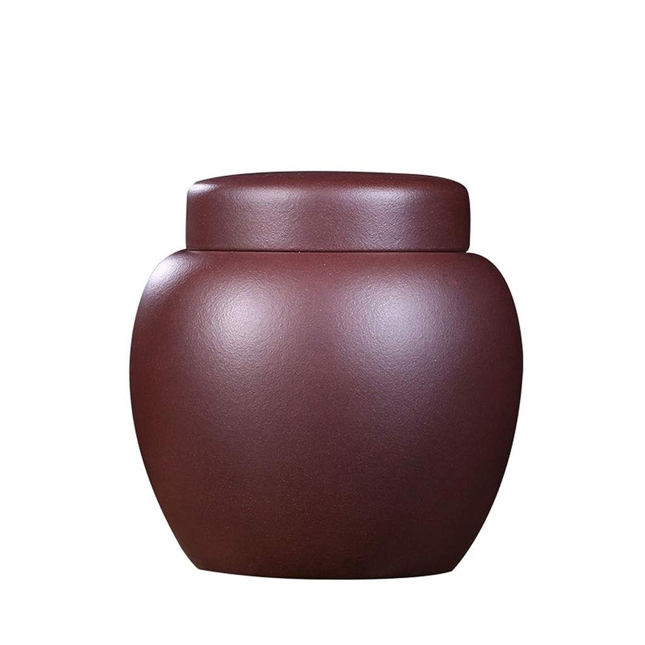 ビール延期する知らせる骨壺/納骨壺オリジナルの鉱石紫砂手作り火葬家族の葬儀のお土産は大人またはペットの灰に適用されます