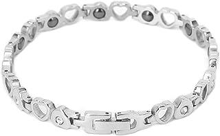 Jiawu Bracelet magnétique, Bracelet de thérapie magnétique de Force Classique à la Mode équilibre Sommeil Spectacle Style ...