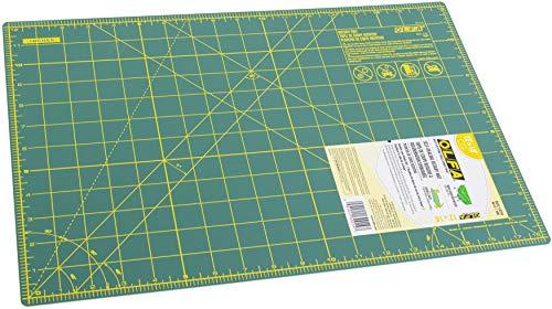 OLFA 9880 RM-CG 12-Inch x 18-Inch Self-Healing Double-Sided Rotary Mat