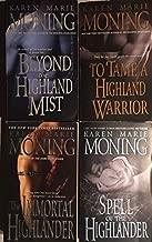 The Highlander Series - 4 Book Set - Beyond the Highland Mist (Book 1), To Tame a Highland Warrior (book 2), The Immortal Highlander (Book 6) and Spell of the Highlander (Book 7)
