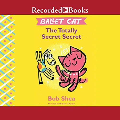 Ballet Cat audiobook cover art