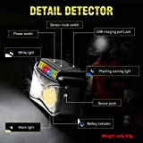 Immagine 2 eletorot lampada frontale led usb