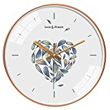 Reloj de Cocina Reloj de pared redondo decorativo lindo anime estilo pared reloj de pared simple reloj de pared 12 pulgadas silencioso silencioso reloj pared reloj de pared reloj de pared reloj de par