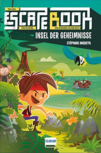 Escape Book Kids: Insel der Geheimnisse (Escape-Buch für Kinder)