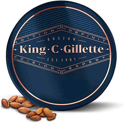 King C. Gillette - Bálsamo para barba para hombre con mante