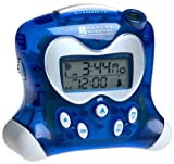 Oregon Scientific RM313PNA Self-Setting Projection Alarm Clock with Indoor Thermometer Blue