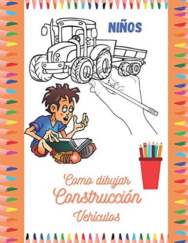 Como dibujar construcción Vehículos: dibuja y colorea varios vehículos de construcción para niños. Dibuje grúa, dumper, camión, excavadoras, bulldozer, tractor y mucho más.
