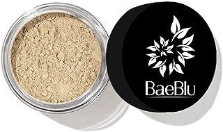 BaeBlu InstaFame Loose Mineral Foundation Powder, Full Coverage Matte With Natural SPF for Sensitive Skin, Dream