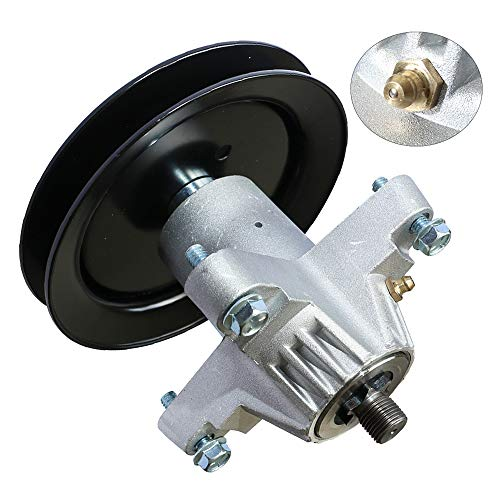 KOOTANS Mower Spindle Assembly for Cub Cadet MTD 918-04474 918-04474A 618-04474 618-04474A 618-04495, Stens 285-889, 80-11-779, CP 30-8012, with 4 Bolts and Grease Zerk