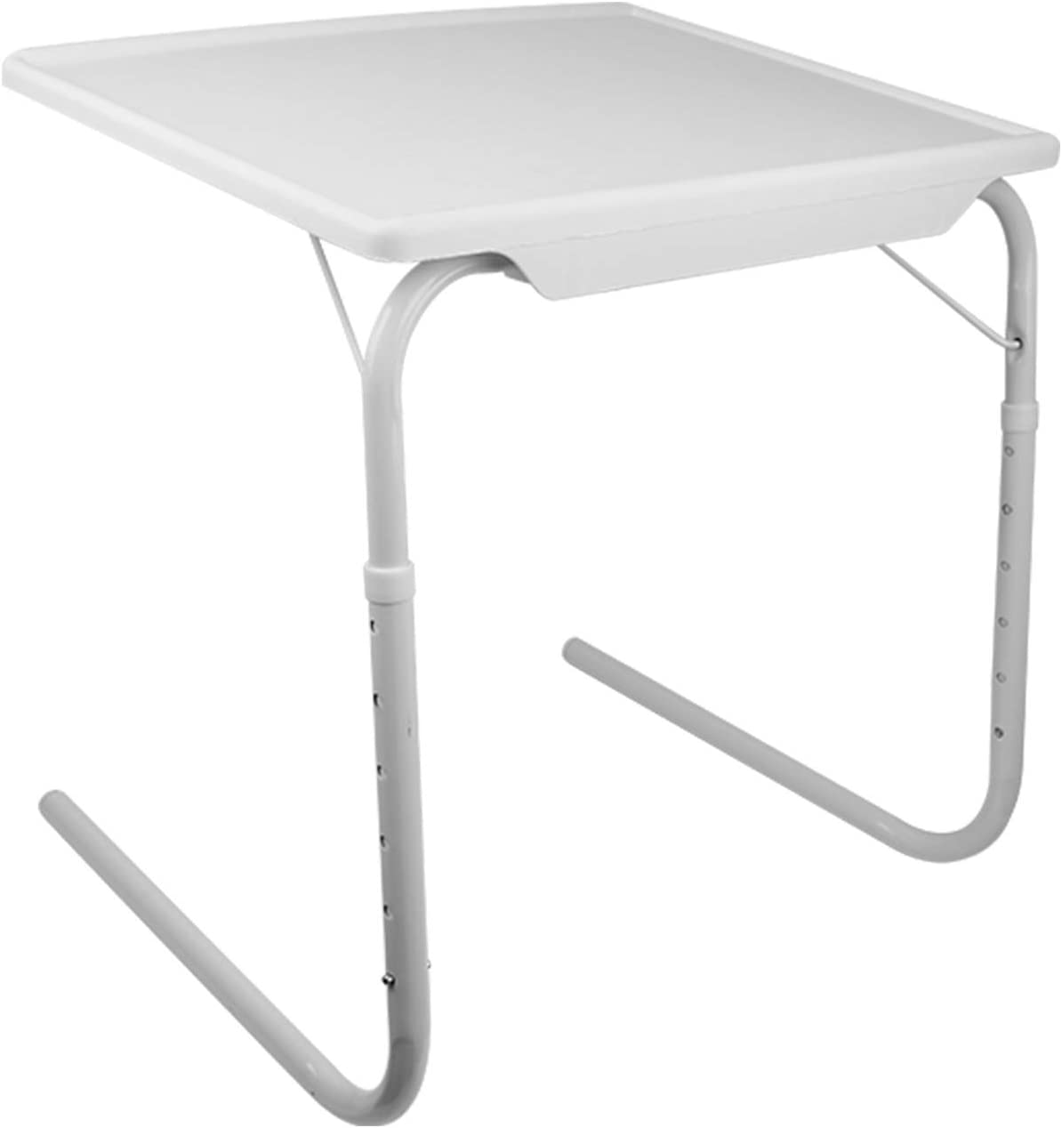 iMounTEK Portable Adjustable Tray Table 6 Height 3 Angle Desk Laptop Eating Working Gaming Dorm Home Bed Couch TV Bed Small Convenient Durable Stable