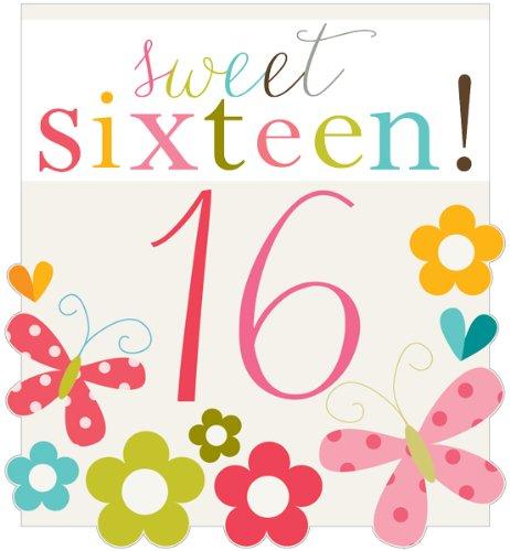 Sweet 16 Verjaardagskaart