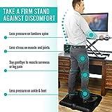 Anti Fatigue Standing Desk Mat - Huge Padded Ergonomic Comfort 26' x 24.5' Kitchen Office...