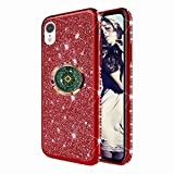 TYWZ Astrolabe Coque pour iPhone XR,Glitter Diamant Placage Cadre Brillant Silicone Cover Housse...