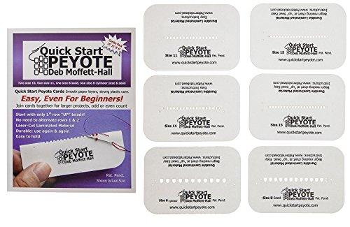 Quick Start Peyote Asst, 6 Cards Per Pack - QSP5