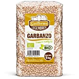Guillermo Garbanzo Gordo Ecológico BIO Granel Calidad Extra 5kg