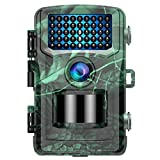 TOGUARD Wildkamera 20MP 4K Lite Jagdkamera mit 120°Wildtier Überwachung Bewegungsmelder Nachtsicht mit Infrarot Leichtes Glühen 2.0' LCD IP56 Wasserdicht - aktualisiert