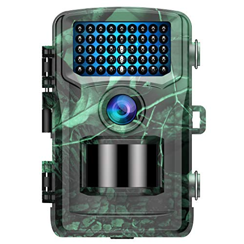 TOGUARD Wildkamera 20MP 4K Lite Jagdkamera mit 120°Wildtier Überwachung Bewegungsmelder Nachtsicht mit Infrarot Leichtes Glühen 2.0
