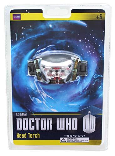 Doctor Who Dalek Tête Lampe torche livre clair