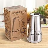 Zoom IMG-2 godmorn caffettiera moka espresso in