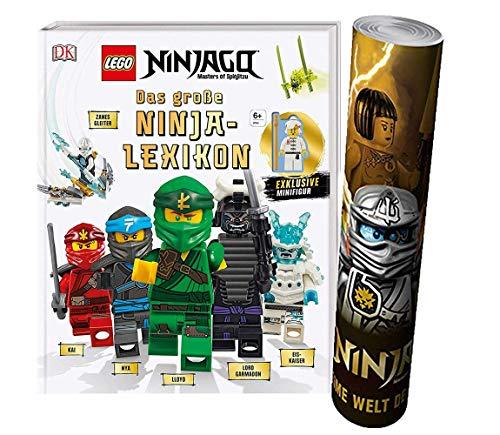 Buchspielbox Lego® NINJAGO® - Das große Ninja-Lexikon: Mit exklusiver Minifigur + Lego® Ninjago® Poster by Collectix