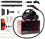VViViD Pressure+ Multi-Purpose 70PSI Heavy-Duty Chemical-Free Pressurized Steam Cleaner w/ 14-Piece Accessory Bundle