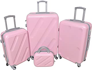 NEW TRAVEL Luggage HARD set 4 pieces size 28/24/20/12 inch 813/4P