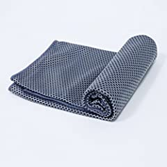 🏵 Slim design,wicks moisture for enhancing comfortable,normal temperature water could make you feel a sense of coldness,continuous and reuseable! 🏵 Extra Long & Light Weight to carry:40x12 inches,our cooling towel is just the right size to wrap aroun...
