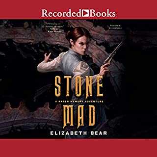 Stone Mad audiobook cover art