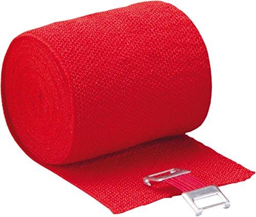Höga Lastic-Color, rot, 8 cm x 5 m gedehnt, dauerelastische Idealbinde, 1er Pack (1 x 0.047 kg)