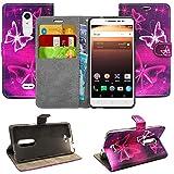 Blueenza purse case for Alcatel A3 XL l'étui - eco leather