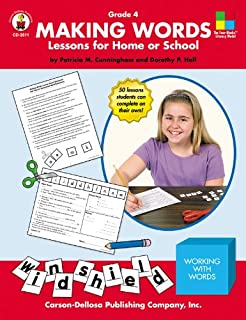 Making Words, Grade 4: Lessons for Home or School (Four-Blocks Literacy Model)