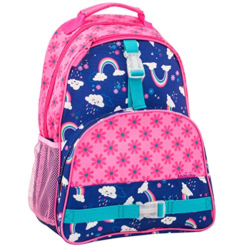 Stephen Joseph Girls' Big Print Backpack, Rainbow