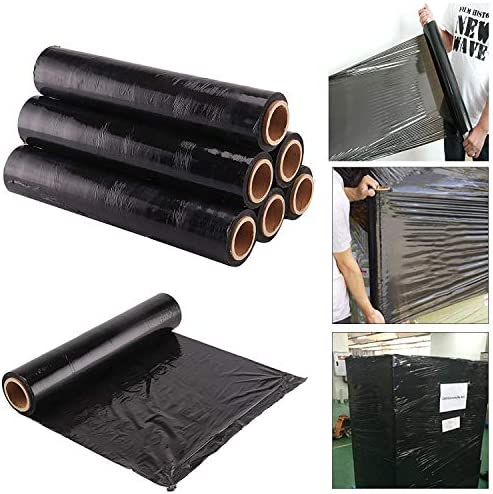 6X STRONG PALLET STRETCH SHRINK WRAP CAST PARCEL PACKING CLING FILM LONG WRAP